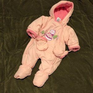 Baby snow suit onesie!